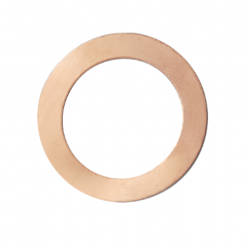 31831 COPPER WASHER FOR BRAKE HOSE BANJO FITTING TO REAR CALIPER (2 NEEDED PER HOSE)